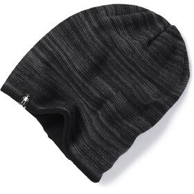 Smartwool Boundary Line Bonnet Réversible, black